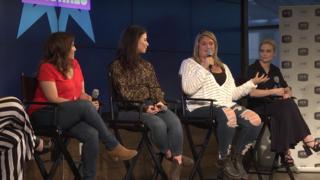 SYFY Fangrrls Women Who Defy panel