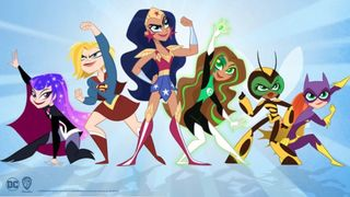 DC Super Hero Girls on Cartoon Network