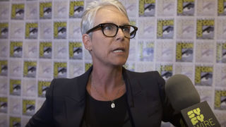Jamie Lee Curtis Halloween Comic-Con
