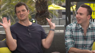 Nathan Fillion and Allan Ungar Uncharted