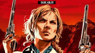 Red Dead Redemption 2 - Sadie Artwork