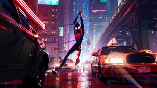 Miles Morales into the Spider-Verse