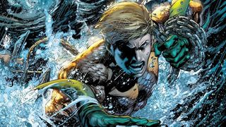 Aquaman #7 (2011) written by Geoff Johns, illustrated by Ivan Reis.