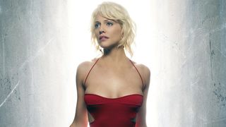 Battlestar Galactica Number Six red dress hero