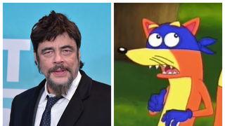 Benicio Del Toro Swiper Dora the Explorer