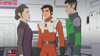 Poe Kaz Leia Ep 11 Star Wars Resistance