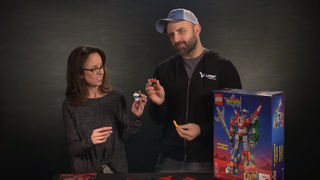 Voltron Showrunners Build a LEGO Voltron Head