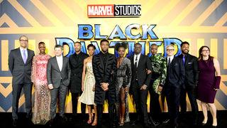 Black Panther premiere cast - Getty