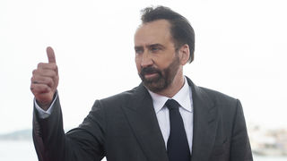 Nicolas Cage thumbs up