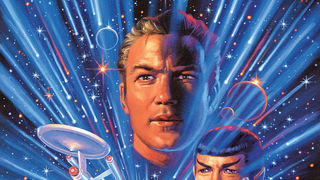 Star Trek - Year Five #1 - Cover by Greg Hildebrandt
