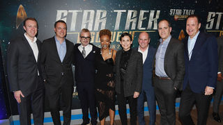 Star Trek Discovery red carpet getty