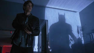 Dick Grayson and Batman on Titans