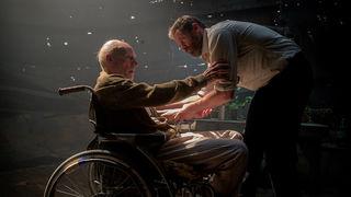 Patrick Stewart Hugh Jackman Logan Wolverine Professor X