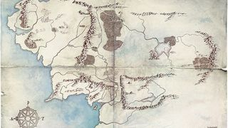 Lord of the Rings amazon map