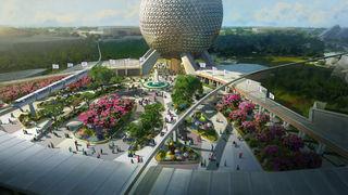 Epcot render via Disney Blog 2019