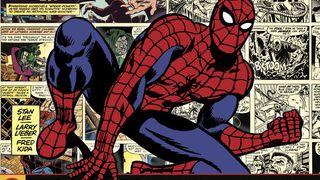 Spider-Man comic strip