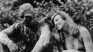 Mitchell Cohen and Andree Maranda in The Toxic Avenger