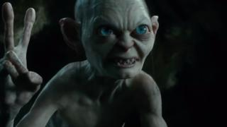 Gollum in The Hobbit: an Unexpected Journey
