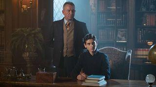 Gotham Bruce Wayne and Alfred Pennyworth
