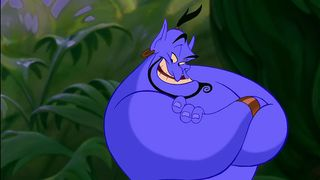 Robin Williams' Genie in Aladdin (1992)