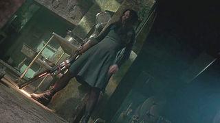 the frighteners patty green dress