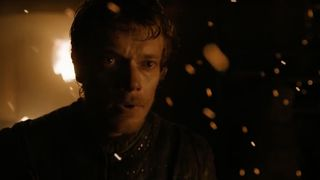 Alfie Allen as Theon Greyjoy on Game of Thrones