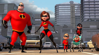 incredibles 2 action shot