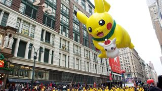 Pikachu in the Macy's Thanksgiving Day Parade - photo Kent Miller Studios- Macy's, Inc.