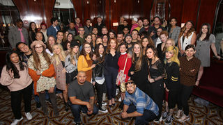 J.K. Rowling Group Photo Fantastic Beasts: The Crimes of Grindelwald