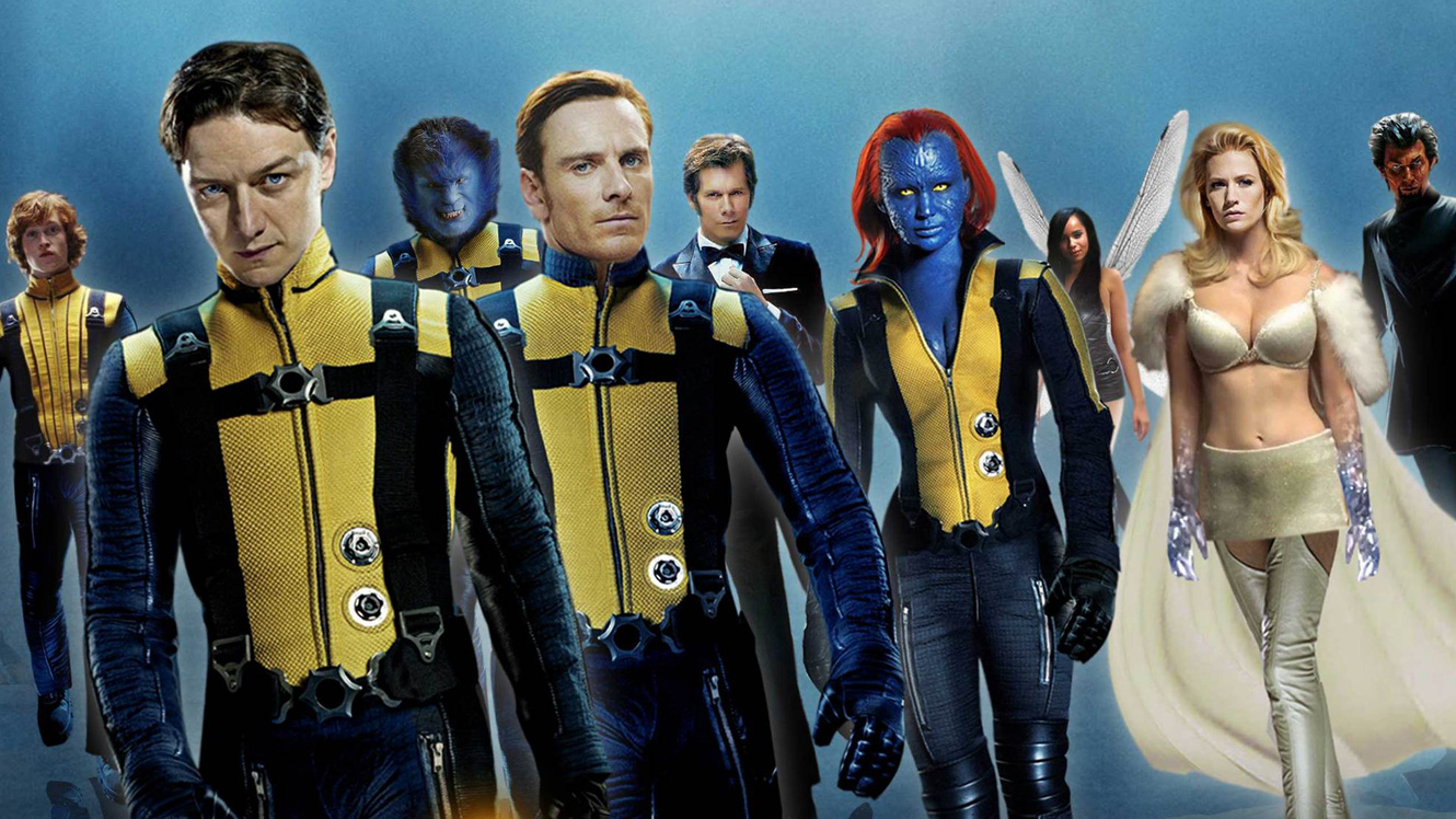 X men class first characters