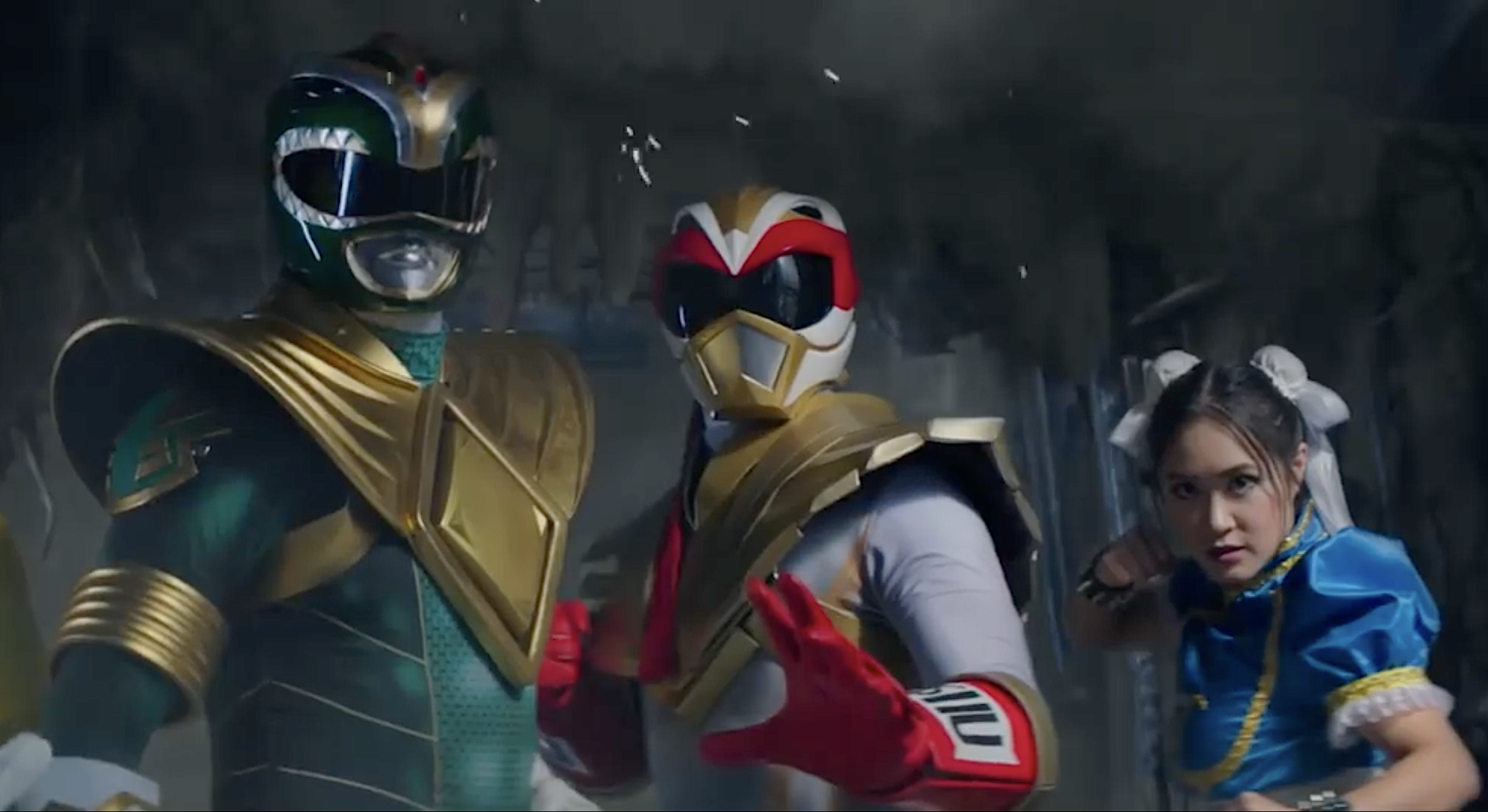 Ryu From Street Fighter Becomes A Power Ranger In Awesome Mini Movie For Power Rangers Legacy War