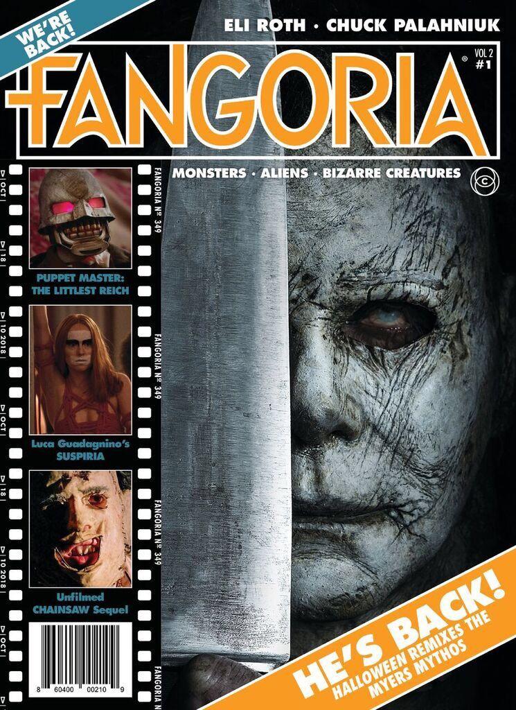 Fangoria Issue 1 Halloween 2020 Fangoria celebrates return with retro Halloween cover Fangoria