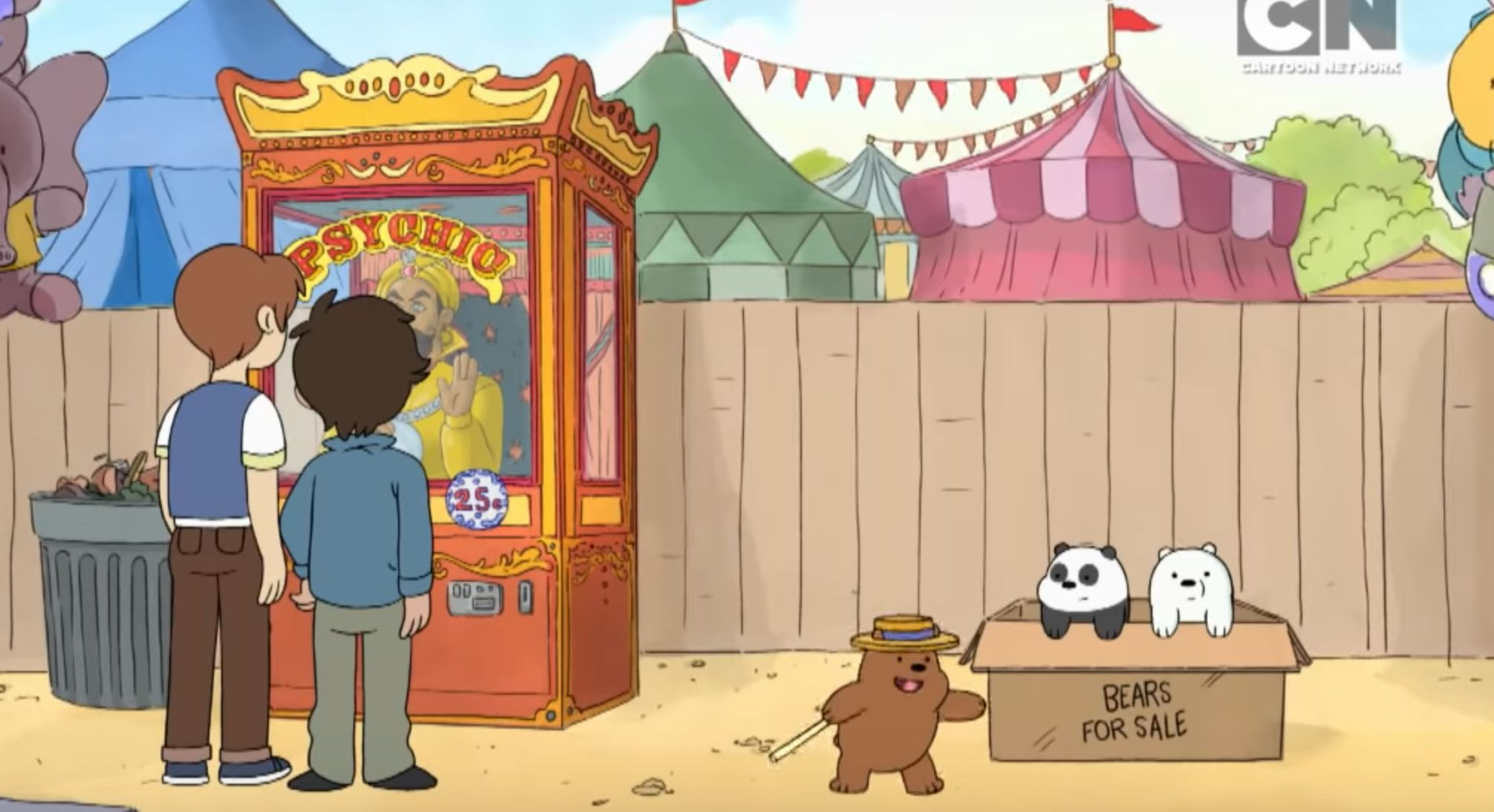 Chosen One Of The Day The Baby Bears On We Bare Bears