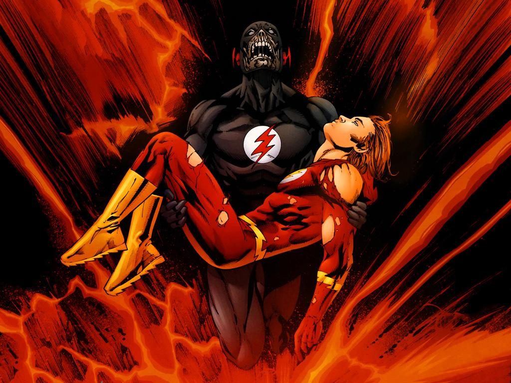 black flash returns to the arrowverse just not actually on the