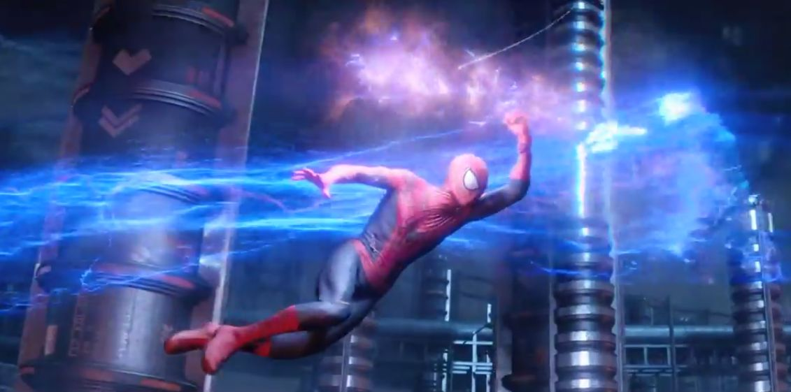 Electro Conjures Up A Blizzard Of Bolts In New Amazing Spider Man 2 Image