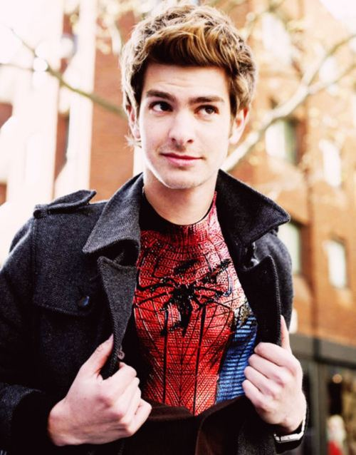 Andrew Garfield says Spider Man is Jewish and a Christ - Andrew Garfield Hairstyle