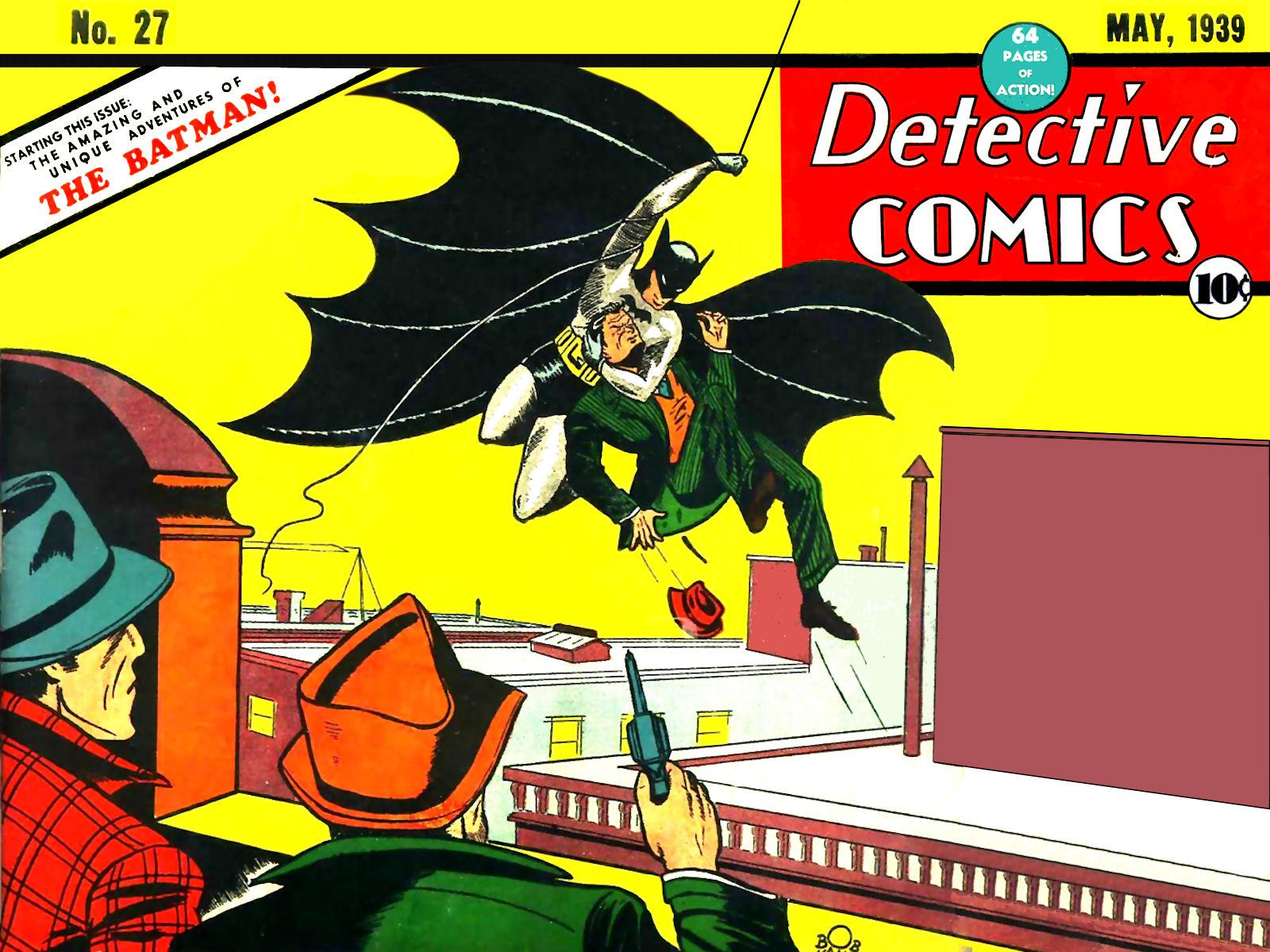 BATMAN DETECTIVE COMICS # 1 NM 1ST PRINT DC 52  2011 SCARCE