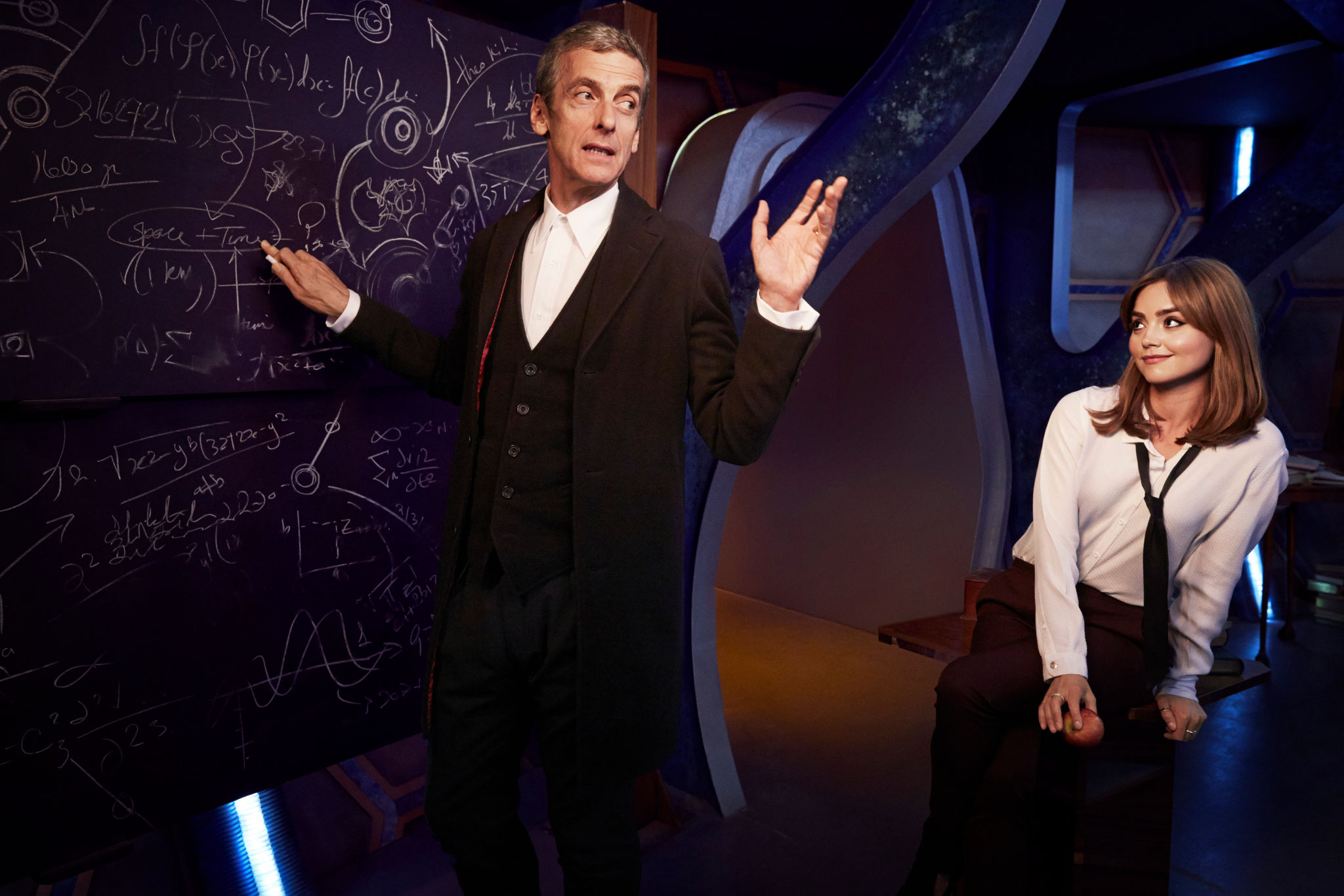 Doctor Who 12th Doctor Wallpaper Who 12th Doctor And Clara