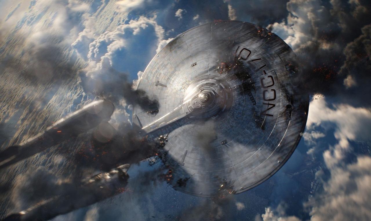 Star Trek Into Darkness Enterprise Crash - WeSharePics
