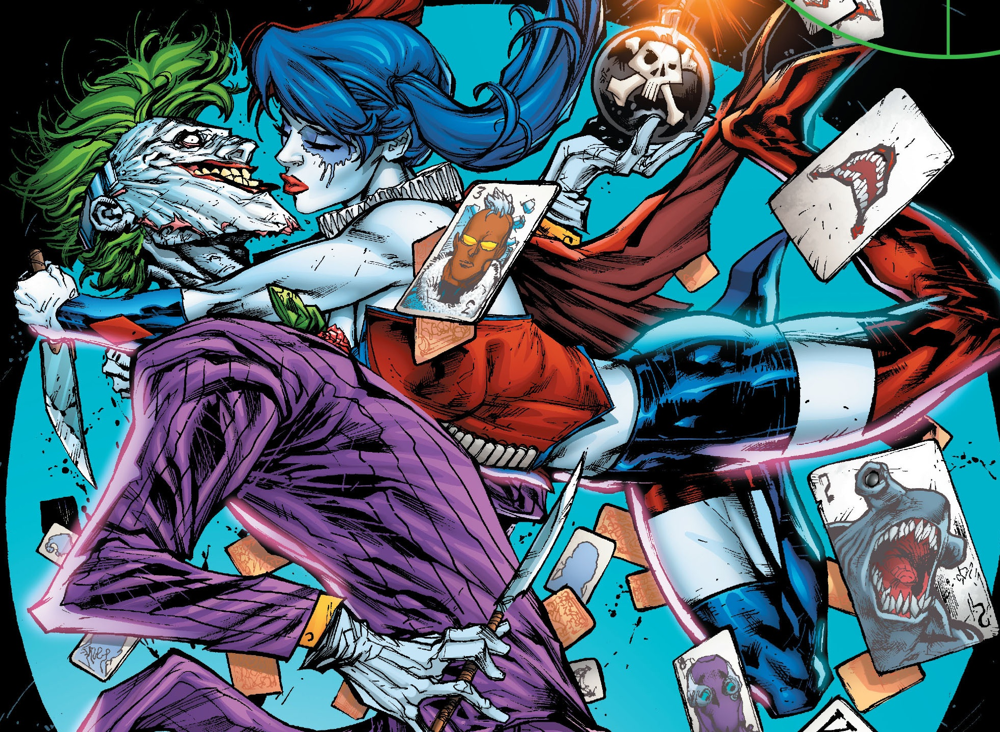9501e71ee0a3 The Joker and Harley Quinn get into a fight in Suicide Squad set pics and  videos