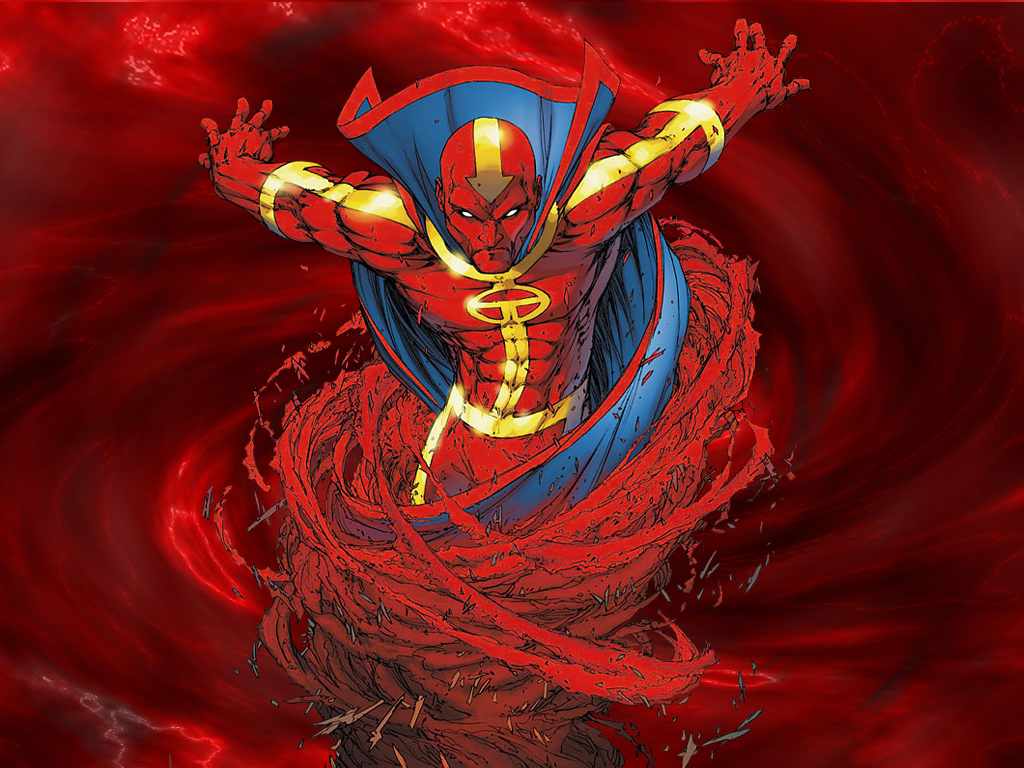 supergirl unleashes a first look at red tornado blastr syfy wire