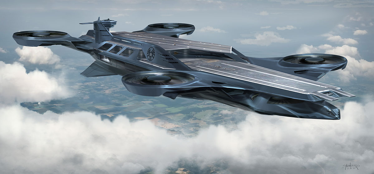 Awesome Iron Man And Helicarrier Concept Art From The