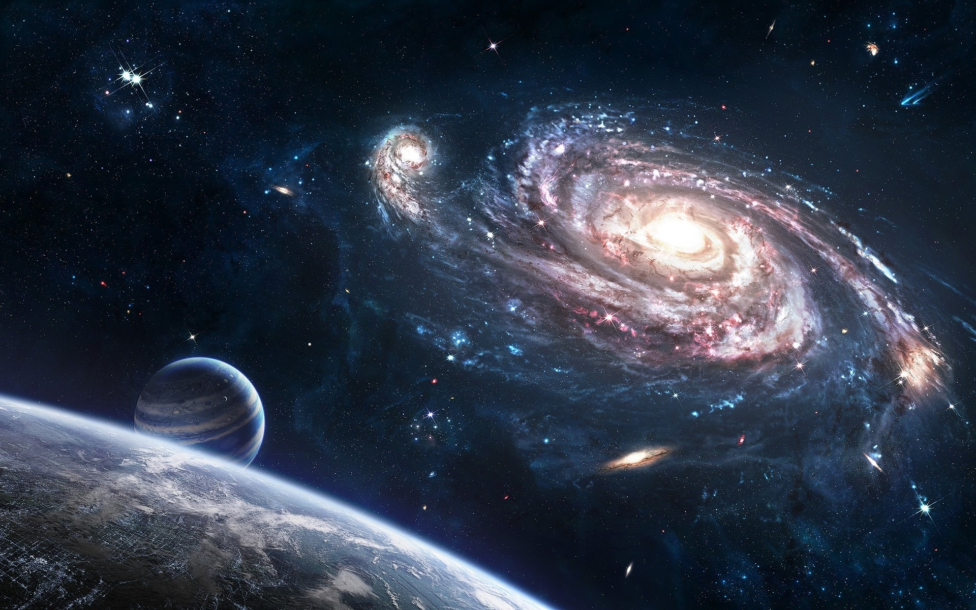 real pictures of planets and space - photo #1