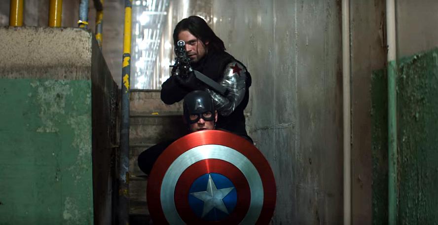 Check out the Captain America vs. Bucky showdown in new explosive Civil War  BTS footage - Blastr