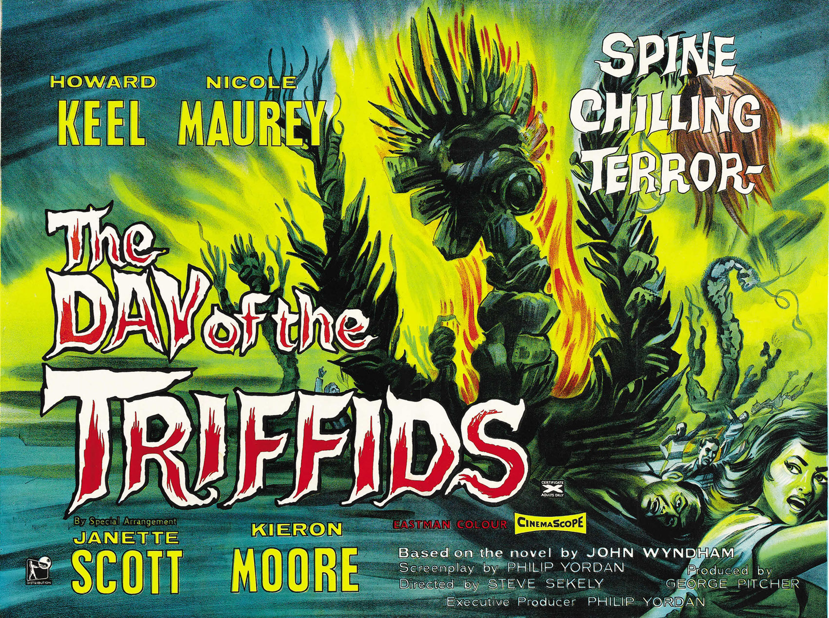 the day of the triffids Opening titles to the classic british/australian adaptation of john wyndham's book.