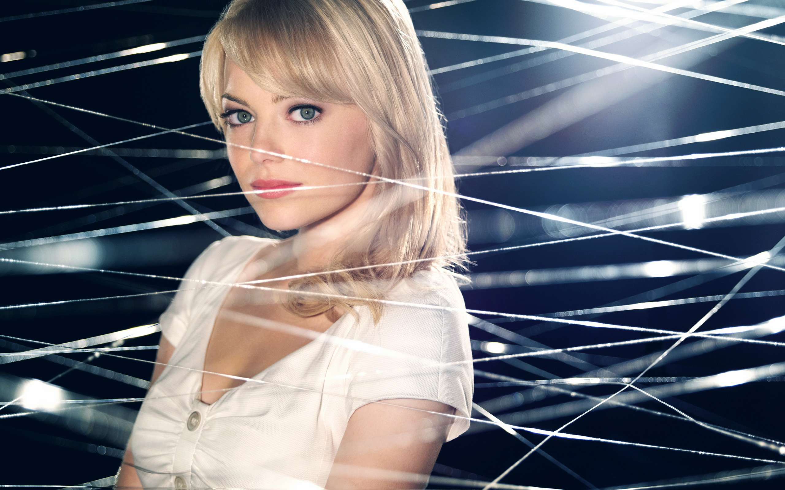 Amazing Spider Man 2 S Gwen Stacy Say S She S The Brains