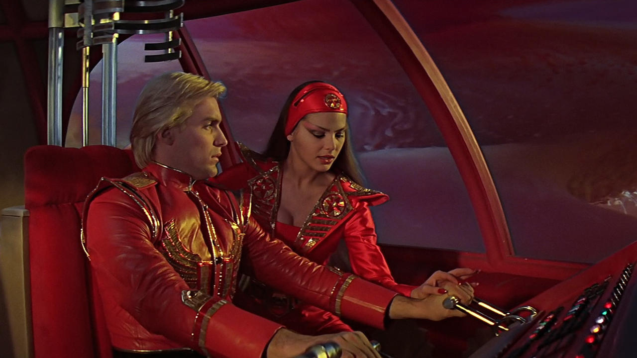 Stuff We Love Every savior-elating ahhh-ah in Queenu0027s Flash Gordon theme song  sc 1 st  Syfy : flash gordon movie costumes  - Germanpascual.Com