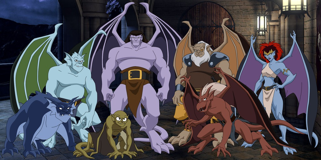 gargoyles characters coloring pages - photo#39