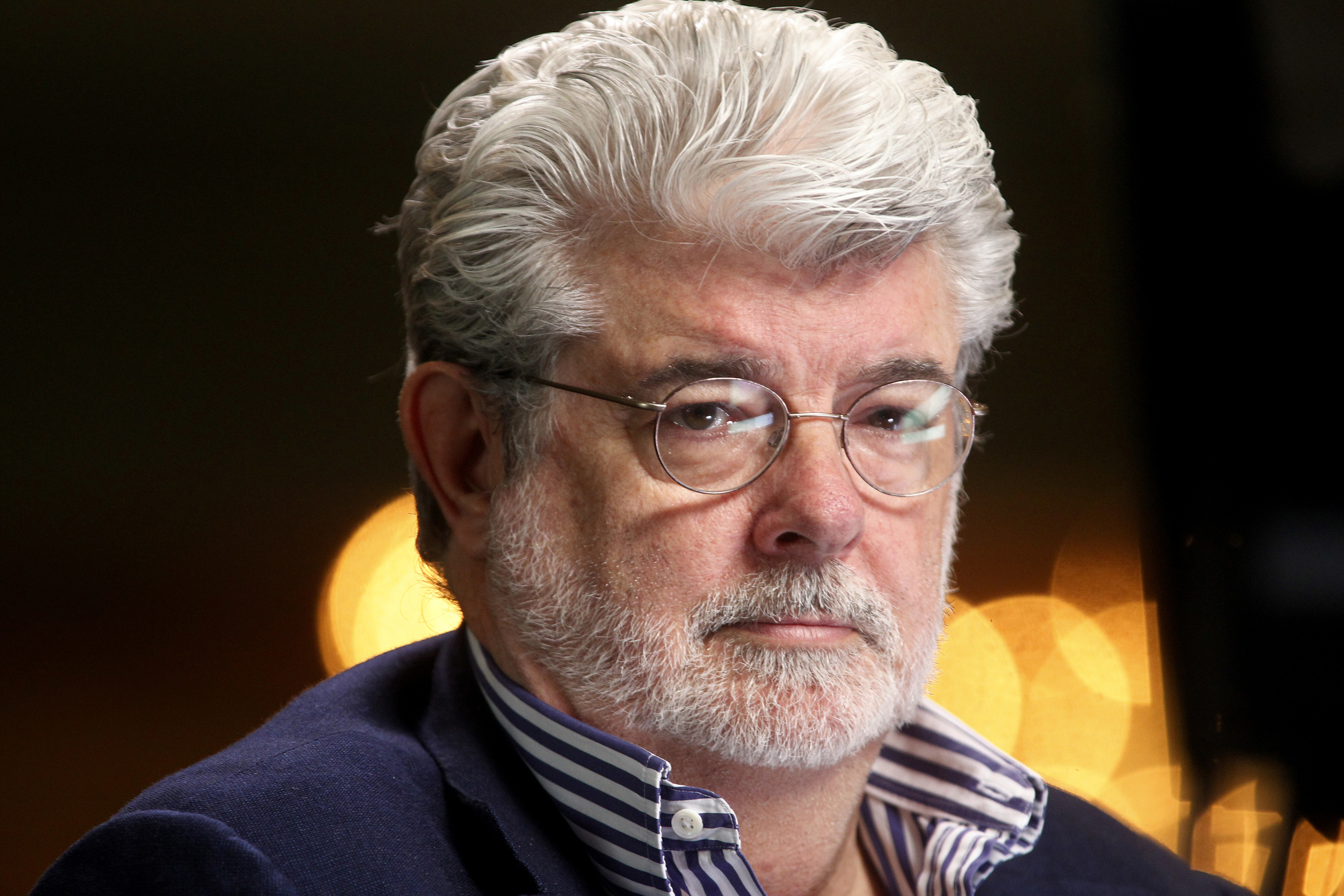 George Lucas George Lucas hints at his problems with Star Wars The