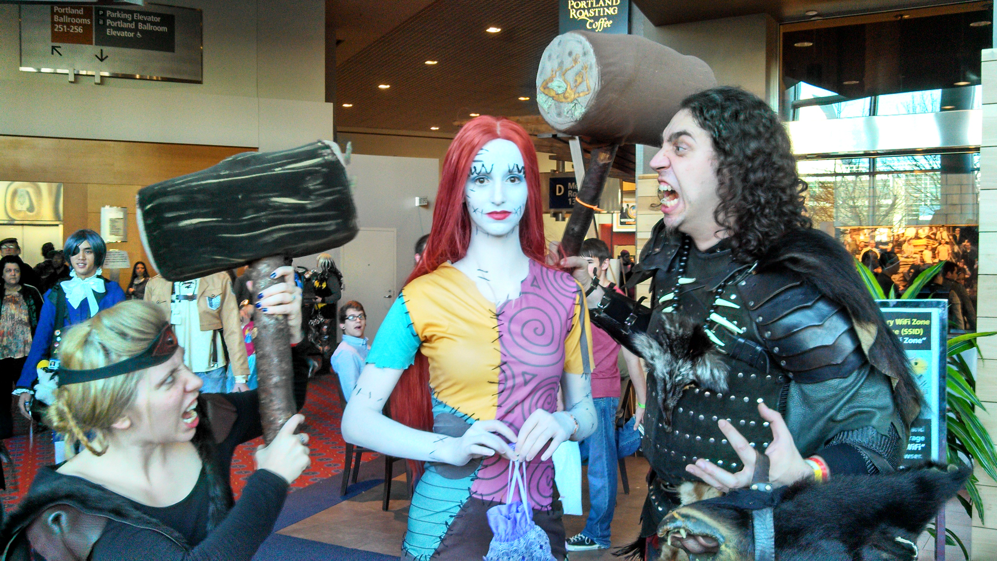 tales from the wizard world portland comic-con + killer cosplay